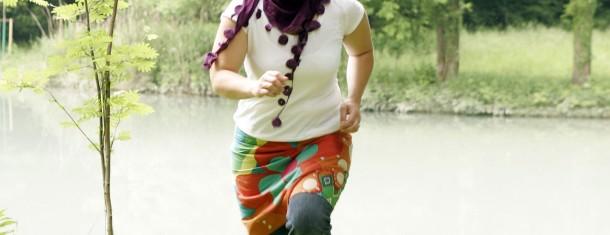 Gutscheine für Yoga per Geocaching zu finden..