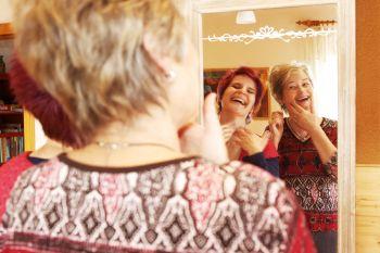 Übung des Monats Mai:  Die Lachcreme