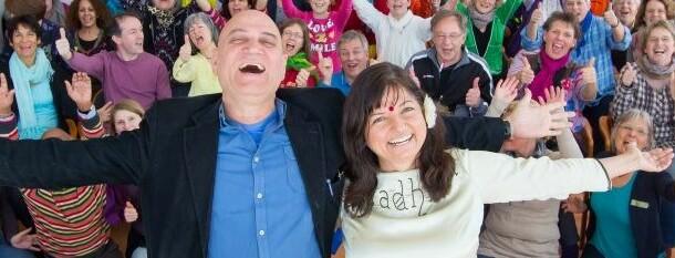 Lachyoga Lehrertraining mit Dr.Madan Kataria!! 16.-20.3.2014