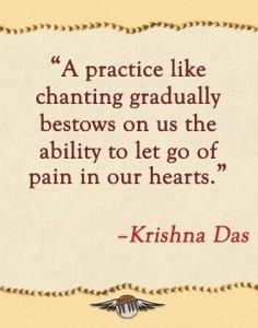 Chanting Krishna Das