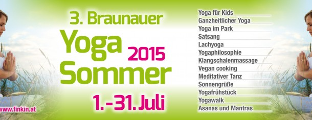 3. Braunauer Yogasommer 2015 1.7.-1.8.