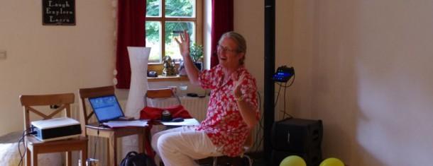 Das Leben feiern- getanzt und gelacht mit Egbert Griebeling 18./19. Juni