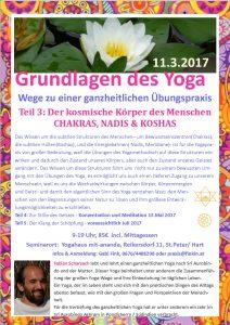 Fabian Grundlagen des Yoga Teil3 kosmischer Körper 11.3.2017