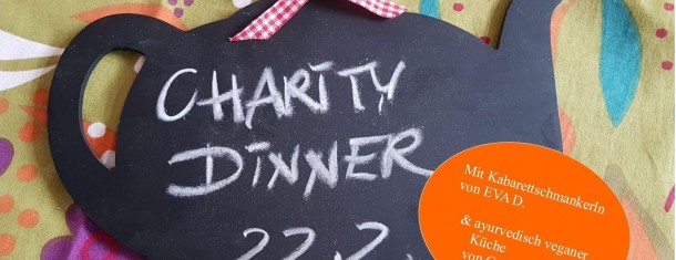 Charity Dinner mit Eva D.  AHOI LEBEN