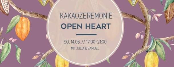 Kakaozeremonie  14.6. 17-21 Uhr
